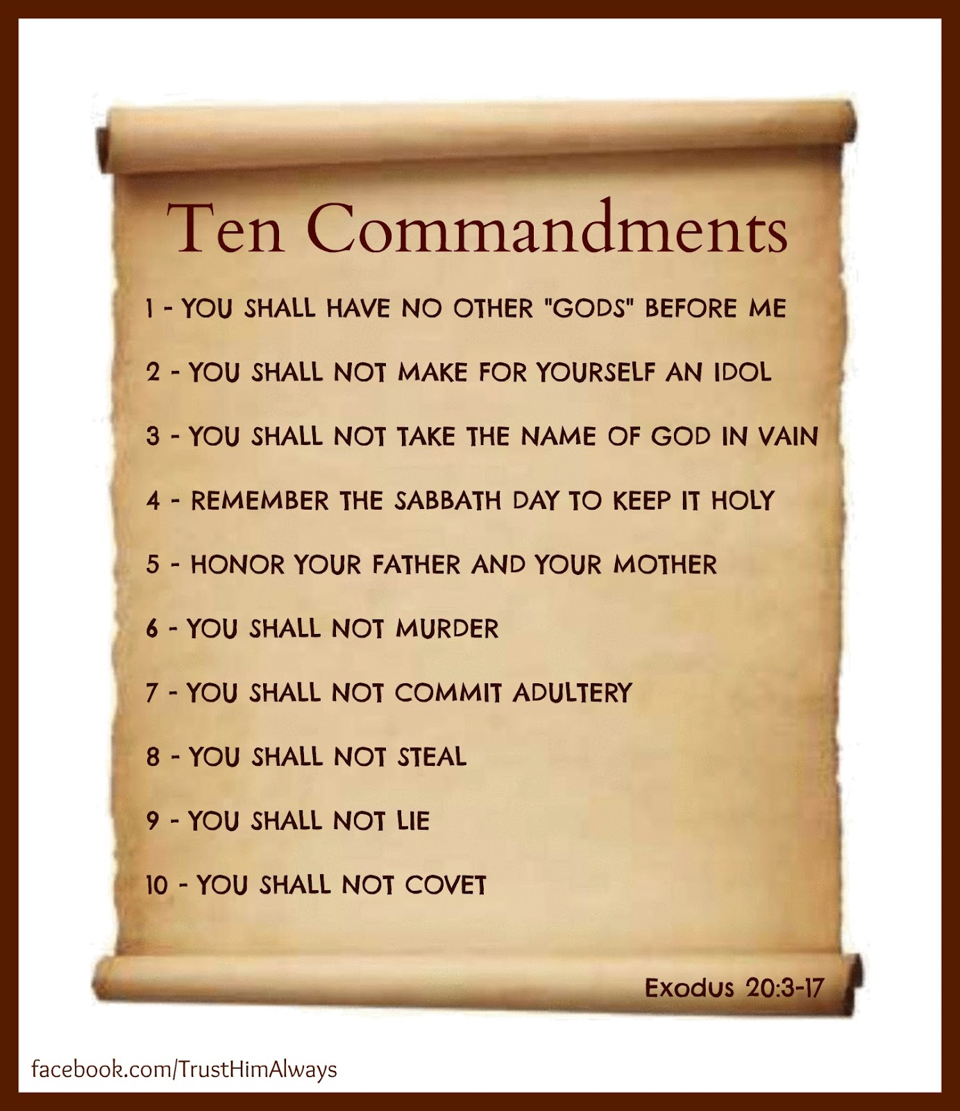 graphic regarding Catholic Ten Commandments Printable known as Exodus 20 10 commandments CatholicFIT